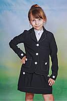 Школьная форма для девочки сарафан+жакет