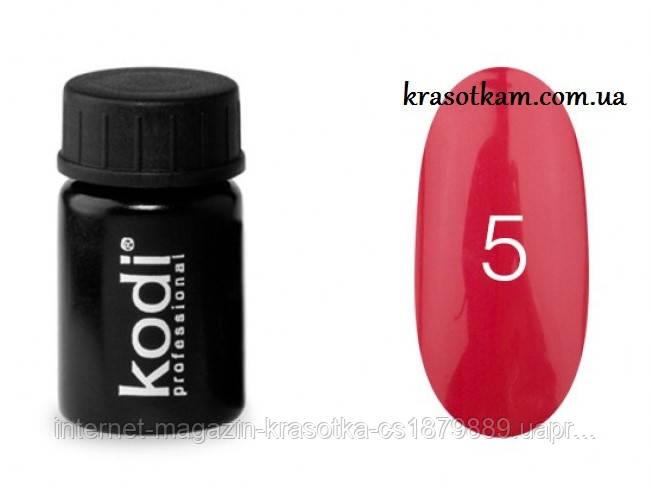 Гель-краска Kodi №05 красная