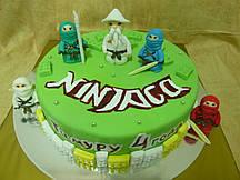 """Детский торт  """"Нинзяго"""""""