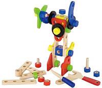 Деревянный конструктор Viga Toys 48 деталей 50383