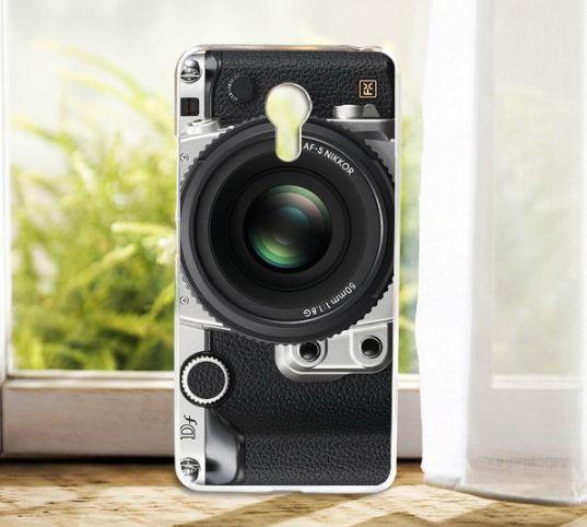 Силіконовий чохол для Meizu M3 Note з картинкою фотоапарат