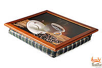 Поднос для завтрака на подушке Motion Coffee