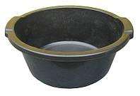 Таз пластиковый 12 литров чёрный