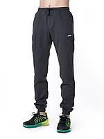 Мужские штаны карго UP Grafit графит зауженные с карманами (брюки-карго, Cargo)