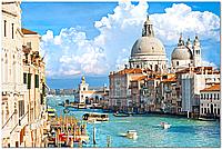 Кафель панно  Венеция. Печать на кафеле, плитка 20х30см.