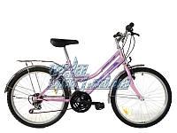 Городской велосипед Mustang Sport 24 розовый, красный