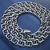 Серебряная цепочка, 600мм, 28 грамм, Арабский бисмарк, чернение, фото 4