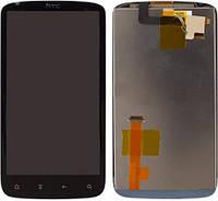 Дисплей (экран) + сенсор (тач скрин) HTC Sensation 4 Z710e, G14 black (оригинал)