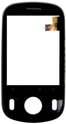 Сенсор HUAWEI C8500 с рамкой black (оригинал), тач скрин для телефона смартфона, фото 2