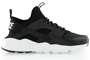 Мужские кроссовки Nike Huarache Ultra Black White