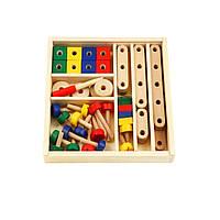 Деревянный конструктор Viga Toys 50490VG