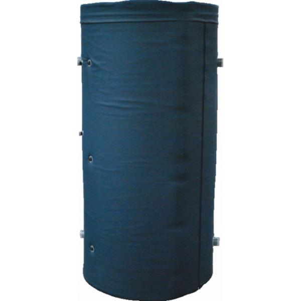 Аккумулирующий бак  АЕ-7-2Т-I два теплообменника(700 литров)