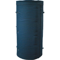 Акумулюючий бак АЕ-4-2 TI два теплообмінника (400 літрів)