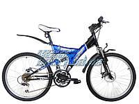 """Двухподвесный подростковый велосипед Azimut """"Sprint D"""""""