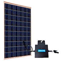 Модульные сетевые солнечные электростанции