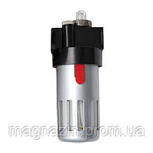 Лубрикатор устройство подачи масла 1 2 в металлической защитной колбе Intertool PT-1421