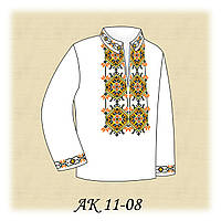 Заготовка сорочки для мальчика для вышивания АК 11-08