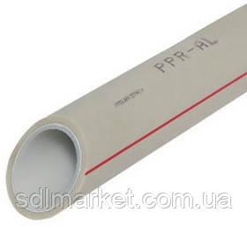 Труба полипропиленовая PPR Stabi c алюминиевой фольгой 63 х 8,7 мм PN 20 от производителя !