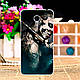 Силіконовий чохол бампер для Meizu M3 Note з картинкою півонії, фото 4