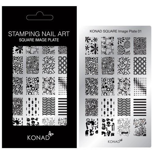Пластины для стемпинга Konad