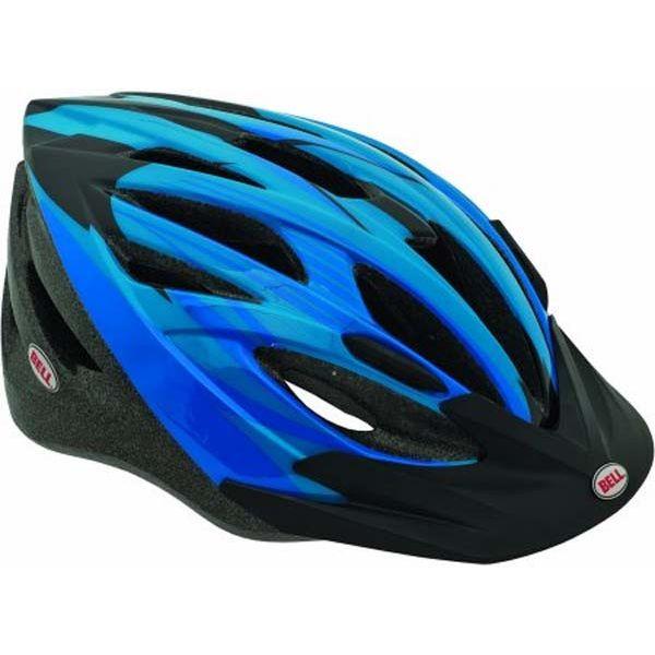 Велошлем Bell Shasta чёрный/синий Straight Edge, Uni (50-57) (GT)
