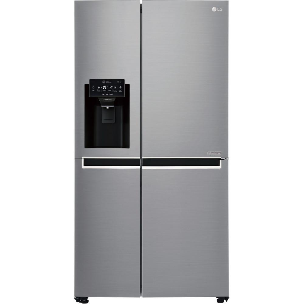 Холодильник з морозильною камерою LG GSL761PZXV