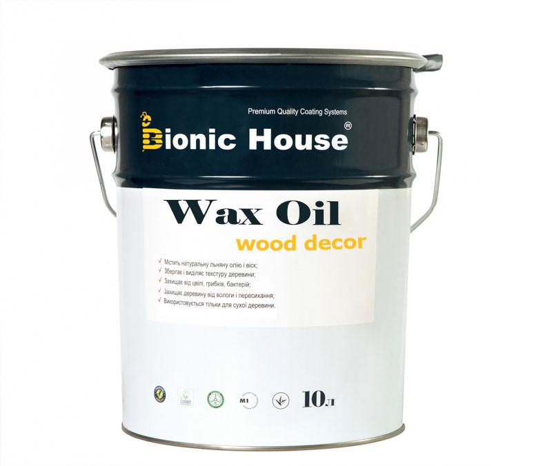 Масло Воск Bionic House для дерева 100% натуральный продукт,защита от влаги и загрязнений 10л - НОВА МЕТА инструменты, садовая техника, лаки краски в Харькове