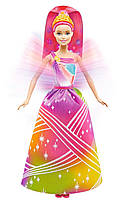 Радужное сияние Барби принцесса с волшебными волосами, Barbie Rainbow Princess