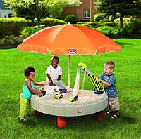 Детская песочница-стол  Веселая стройка Little Tikes 401N