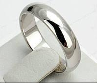Классические обручальные титановые кольца Platina