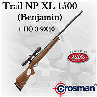 Crosman Benjamin Trail NP XL 1500, NitroPiston, оптический прицел 3-9х40