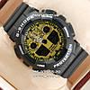 Часы Casio G-Shock ga-100 Black-Gold. Реплика ТОП качества!