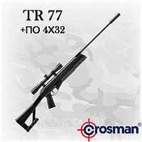 Crosman TR77 пружинно-поршневая пневматическая винтовка с оптикой 4х32