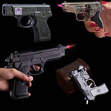 Пистолет зажигалка и мушкеты зажигалки