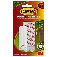 Легкоудаляемый крючок 3М Command 17041 для рамок с веревочными петлями, 2кг