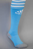 Гетры футбольные  Adidas classic голубые