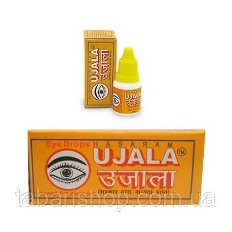 Уджала, Ujala - аюрведические капли для глаз, 10мл, HASARAM