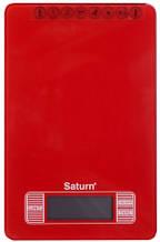 Весы кухонные SATURN ST-KS7235-Red