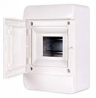 Корпус пластиковый, навесной, 5-модульный, 1 ряд, IP40, с непрозрачной дверкой, фото 1