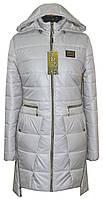 Женская удлиненная куртка -плащ