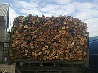 Колотые дрова , сухие дубовые дрова