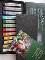 Подарочный набор мягкой пастели MUNGYO для рисования, работы с глиной для лепки, флористики.Основные цвета