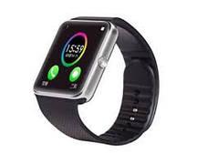 Умные смарт часы Smart Watch GT08 часы телефон с камерой, GPS, Bluetooth, NFC красно золотые, фото 2