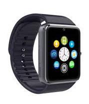 Умные смарт часы Smart Watch GT08 часы телефон с камерой, GPS, Bluetooth, NFC красно золотые, фото 3
