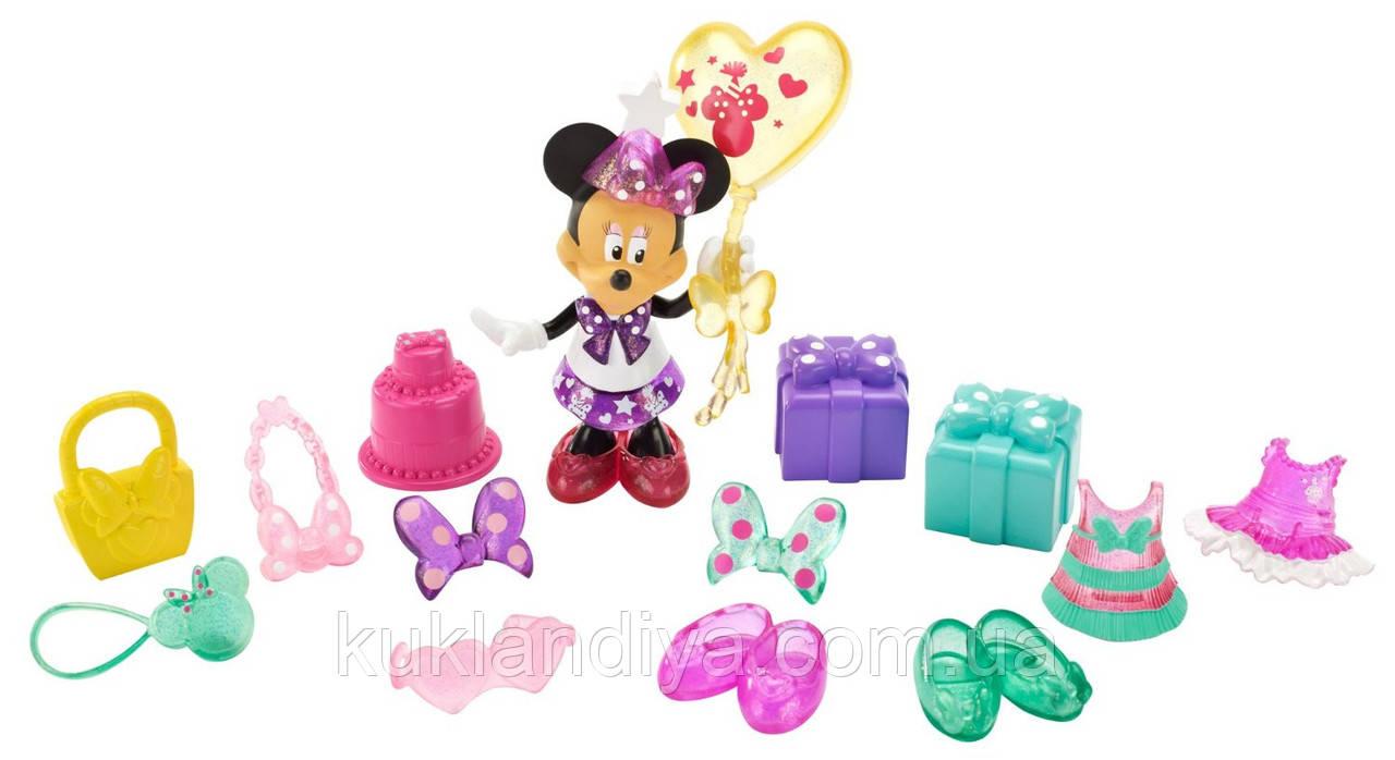 Игровой набор Fisher-Price Disney's Minnie Mouse Сюрприз на День Рождение