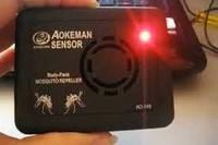 Портативный ультразвуковой отпугиватель комаров Aokeman Sensor