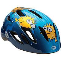 Велошлем детский Bell Zipper синий Puffer, Uni (47-54) (GT)