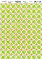 Бумага дизайнерская «Дыхание весны» 5, А4, 250 гр./м2,  Rosa Talent