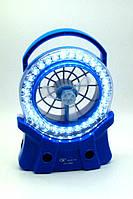 Вентилятор - лампа JA-1980 с LED подсветкой автономный