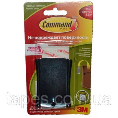 Легкоудаляемый металлический крючок (подвес) 3М 17048 для картин с системой крепления Command, 1 шт. (макс. на